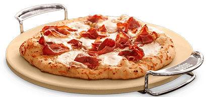 Pizza On The Weber Gbs Pizza Stone Wow Bbq