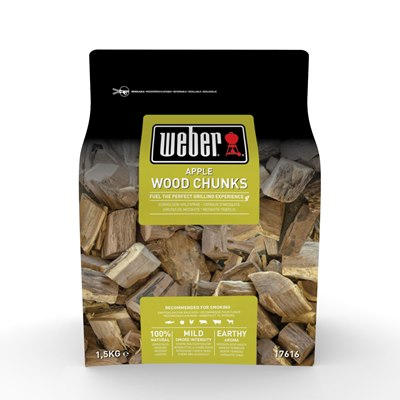 Weber Wood Chunks Apple 1.5Kg