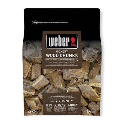 Weber Wood Chunks Hickory 1.5Kg
