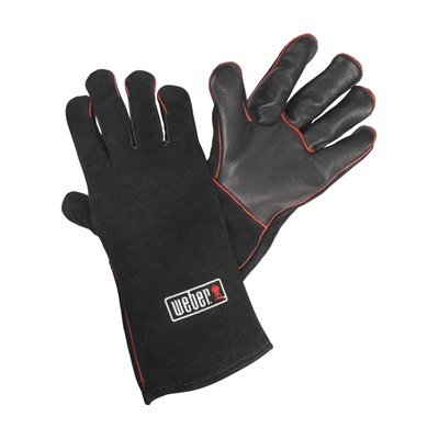 Weber Safe Touch Leather Gloves