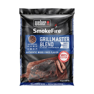 Weber SmokeFire Wood Pellets Grill Academy Blend