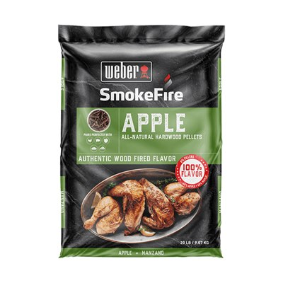 Weber SmokeFire Wood Pellets Apple