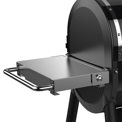 Weber Stainless Steel Folding Side Table - Smokefire