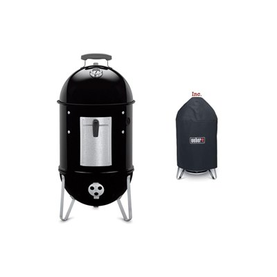 Weber​ Smokey Mountain Cooker 37cm & Cover