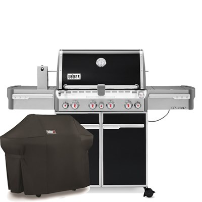 Weber Summit E-470 & Cover
