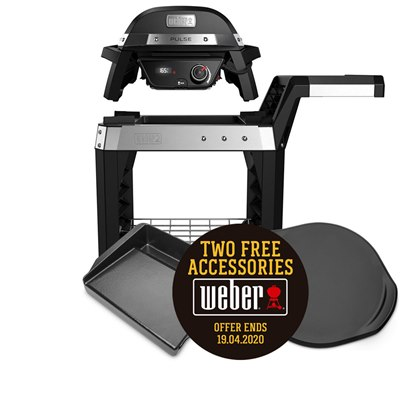 Weber Pulse 1000 Electric BBQ & Cart