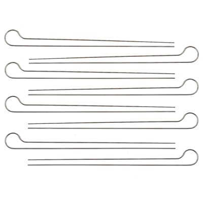 Weber Double Prong Skewers