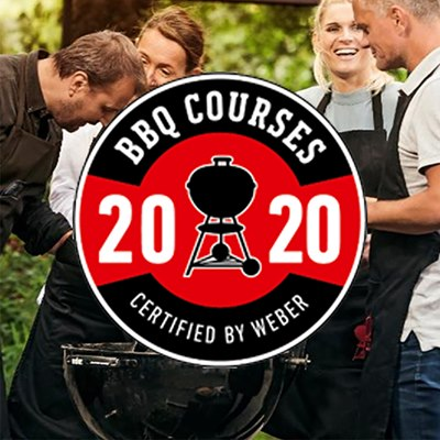BBQ Course Certified by Weber BBQ 'round the world