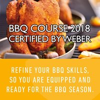 04-08-2018 BBQ Course Certified by Weber Saturday 4th August 2018