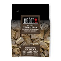 17619 Weber Wood Chunks Hickory 1.5Kg