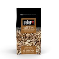 17627 Weber Wood Chips Whiskey Oak 0.7Kg