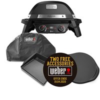 82010074-COVER Weber Pulse 2000 Electric BBQ & Cover